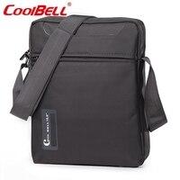 Cool Bell Shoulder Messenger Bag for Men Women Small Crossbody Bags Male Travel Sling Bag Casual Laptop Bag Case 10.6 inch