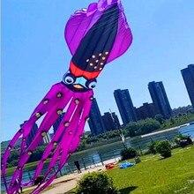 8 м 10 м 20 м 27 м большая опера воздушные змеи Осьминог змеи Мощный воздушный змей для взрослых 3d воздушный змей завод parafoil walk in sky