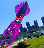 free shipping 8m 10m 20m 27m large opera kites flying octopus kites power kite for adults 3d kite factory parafoil walk in sky