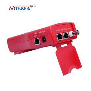 Image 2 - Ağ kablosu test cihazı kablo izci RJ45 kablo test cihazı NF 388 İngilizce sürüm ses kablosu test cihazı kırmızı renk NF_388