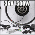 E-bike 36V 500W Motor with Disc Brakes hub Electric Bicycle Ebike conversion Kit front or rear wheel new Details about