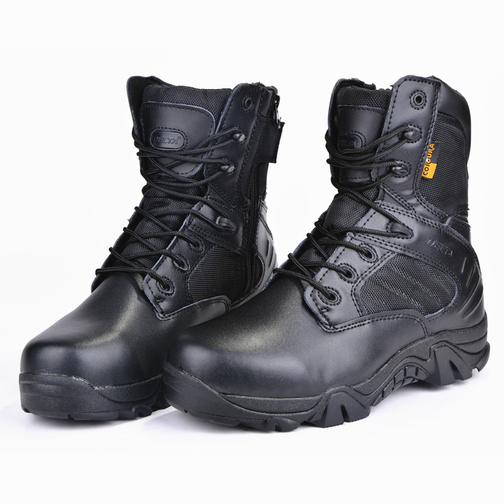 Women's Boots Combat Ankle shoes for Women Military boots desert tactical Boot Plus size 45 Lace up Wear resistant shoes woman