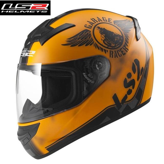 Ls2 Motorcycle Helmet Full Face Racing Rookie Infinite Ranger