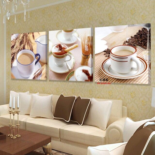 US $5.79 44% OFF|Hause dekoration küche wand gemälde modulare Restaurant  malerei decor art leinwand moderne bilder für wohnzimmer kein Rahmen in ...