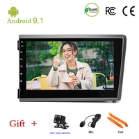 Car DVD player For Volvo S60 V70 XC70 2000 2004 GPS stereo audio navigation,Android 9.1,Double DIN Bluetooth ISP 7'' screen