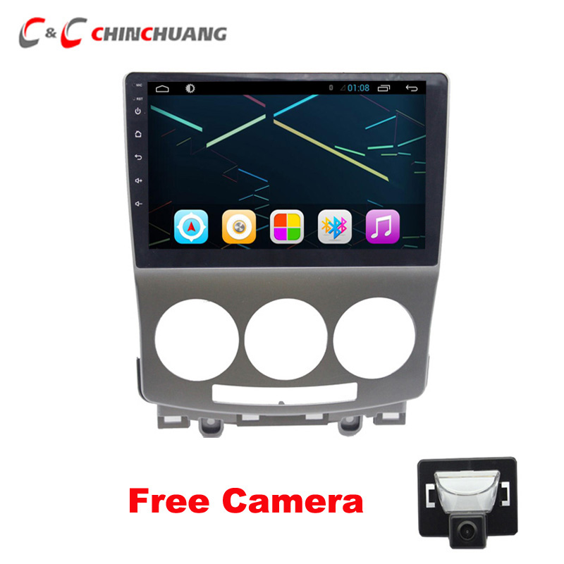 Free Car Rear View Camera 2GB RAM Android 8.1 Car Radio DVD Player for <font><b>Mazda</b></font> <font><b>5</b></font> 2005-2010 <font><b>GPS</b></font> Glonass Navigation Audio Video SWC image