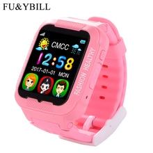 ФОТО k3 kids gps smartwatch mtk2503 touch screen deep waterproof google map sos button smart watch for child gps locator pk q90 q50