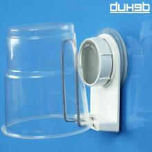 Dehub Suction Cup Plastic Holder Creative Mug Bathroom Stainless Steel Set  With Design