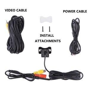 Image 5 - IP68 wodoodporna kamera samochodowa z tyłu 8 diod LED HD Night Visions 170 stopni kamera samochodowa uniwersalna kamera cofania