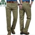 AFS JEEP 2015 Original da marca calça casual para Homens, de Alta Qualidade Meados Cintura Macacão do Trabalhador, no meio da cintura Calças de carga de trabalho