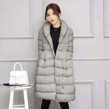 2016 New Arrival Winter Thick warm female down jacket coats women cute cotton-padded skirt coat Zipper Wadded parkas jacket coat