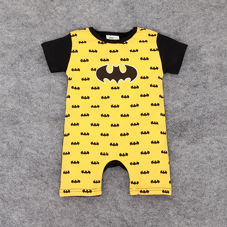 36d166379 2019 explosion models unisex baby clothes Kids short sleeve Superman  Spiderman climbing clothes summer cartoon baby romper-in Bodysuits from  Mother & Kids ...