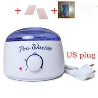 EU US Plug New Professional Warmer Wax Heater 10pcs Wooden Waxing Wax Disposable Sticks 1 No