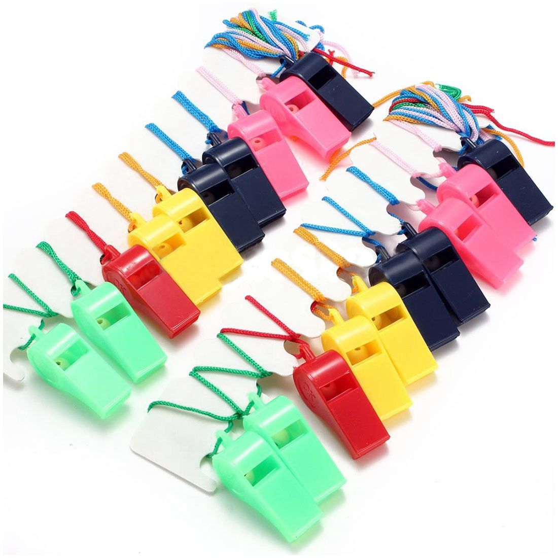 20pcs Whistle Referee Whistle Football Whistle Football Plastic
