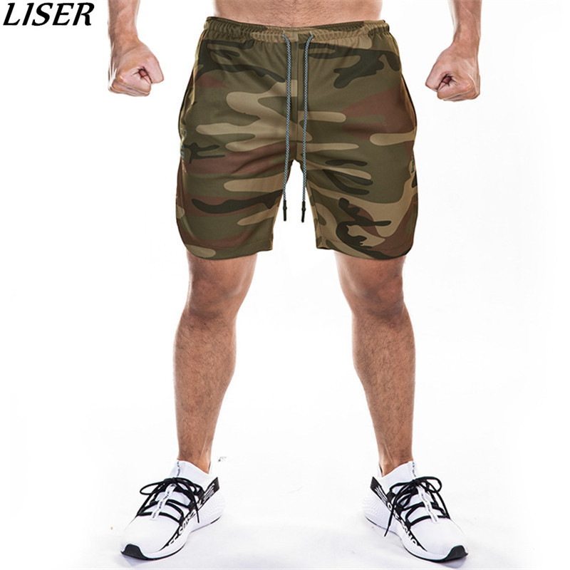 New Gyms Men Bodybuilding Shorts Male Short Camouflage Homme Sportswear Jogger Fashion Bermuda Masculina Casual Shorts