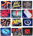 Hot Sale  Mouse Pad 400*320*3mm QCK+ NAVI Natus Vincere Asphalt FNATIC NIP IG DOTA MLG gaming gamer large size MICE mat