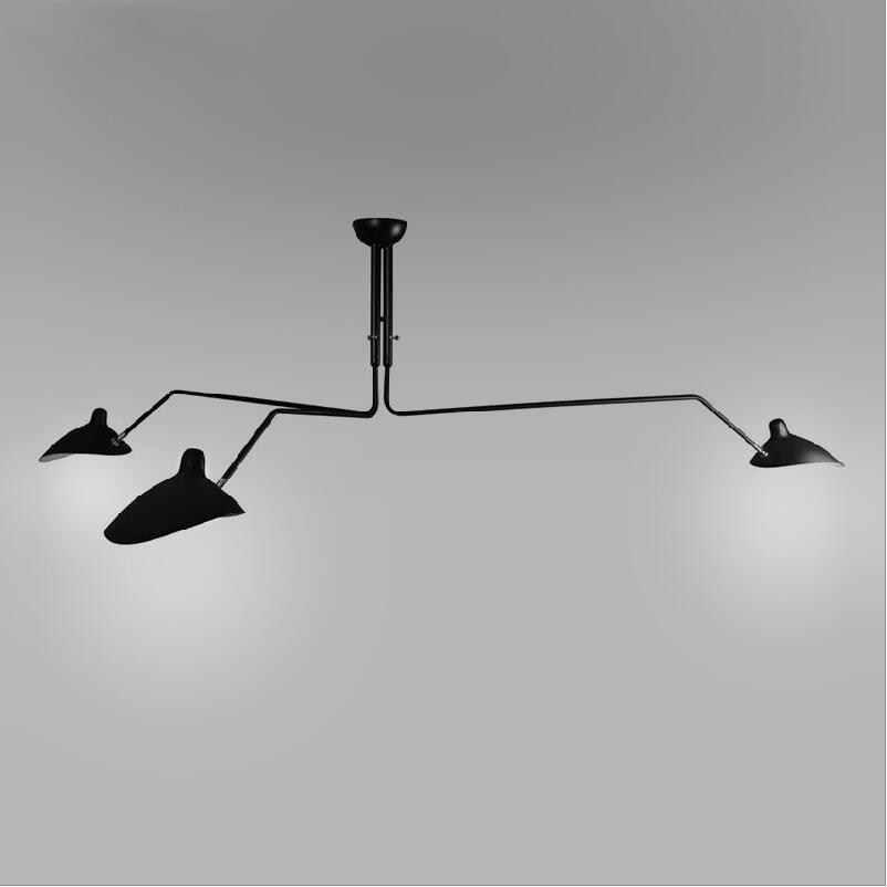 220cm Serge Mouille Duckbilled Pendant Light White Black Ceiling Lamp 175cm One Two Arm Wall Sonce Lamp Black Table Desk Lamp