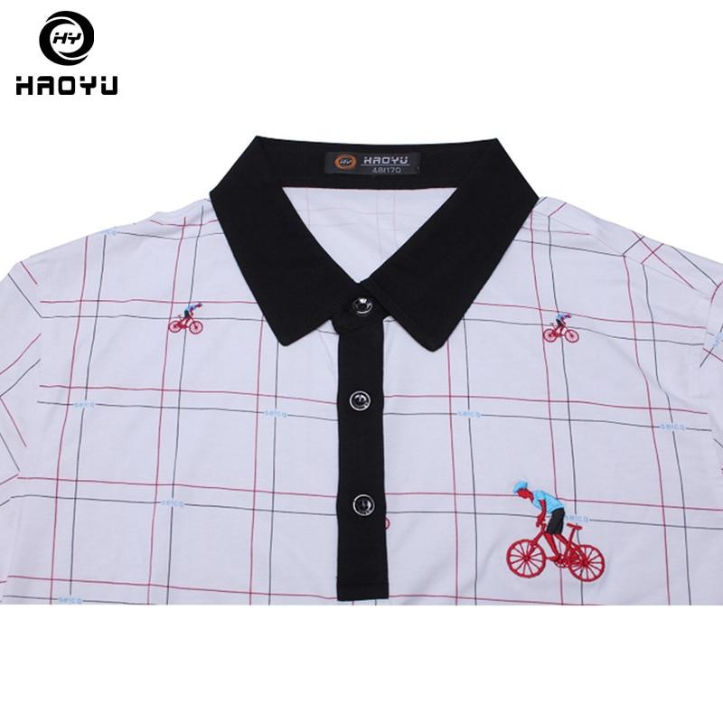 Heren poloshirt Beroemd merk Fashion Casual korte mouw Camisas - Herenkleding - Foto 4