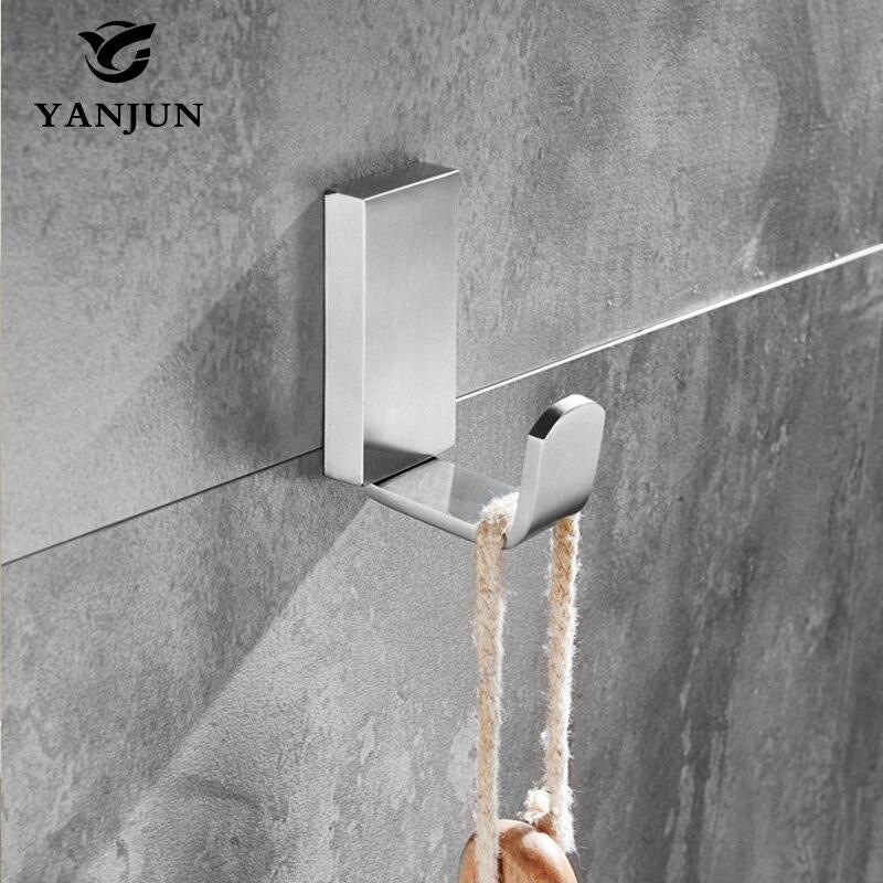 Yanjun  Hat Hook Bathrobe Clothes Hanger Bathroom Coat Rack Bathroom Accessories High Quality European Style YJ-7650