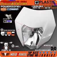 Powerzone phare avant pour KTM SX F EXC XCF SMR 2014 15 16 moto Dirt Bike MX Enduro Supermoto avec ampoule H4