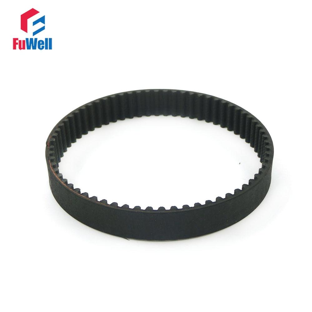 HTD 5M Timing Belt 15/20/25mm Width Transmission Rubber Belt 5mm Pitch 330/340/350/375/400/410/420/450/475/490-5M Toothed Belt