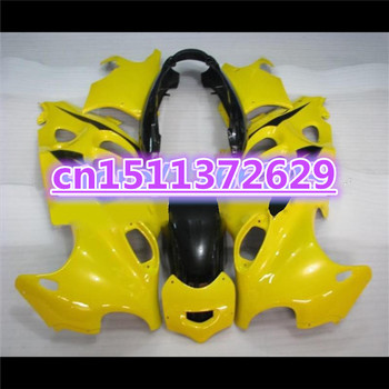 Dor-Hot sale Brand new Fairings for A GSX750F 600F Katana 1997 98 99 00 01 02 03 04 2005 black yellow GSX 600F 2005 fairing kit image