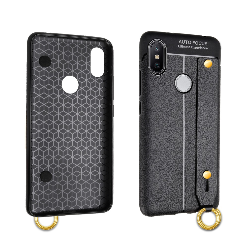 For Xiaomi Mi 5X 6X MIX MAX 2 Pocophone F1 Soft TPU Silicone Business Leather Case For Redmi 4 4A 4X 5 Plus 6A 6 Pro Note 3 4 5 in Fitted Cases from Cellphones Telecommunications