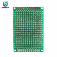 2 teile/los 4X6 CM Double Side Prototyp Diy Universal Gedruckt Schaltung Platine Protoboard Für Arduino