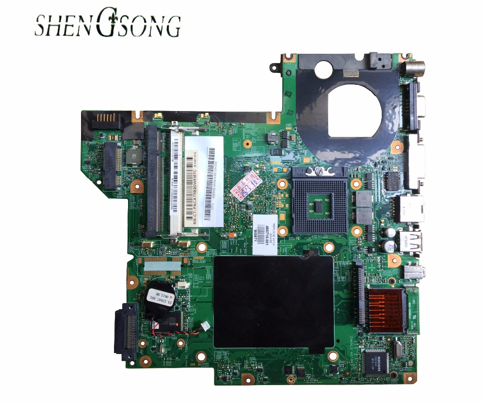 460715-001 Free shipping Laptop motherboard FOR HP DV2000 motherboard COMPAQ V3000 with 965GM 448598-001 100% Tested GOOD brand new for hp compaq presario v3000 palmrest top case 417097 001 silver free shipping