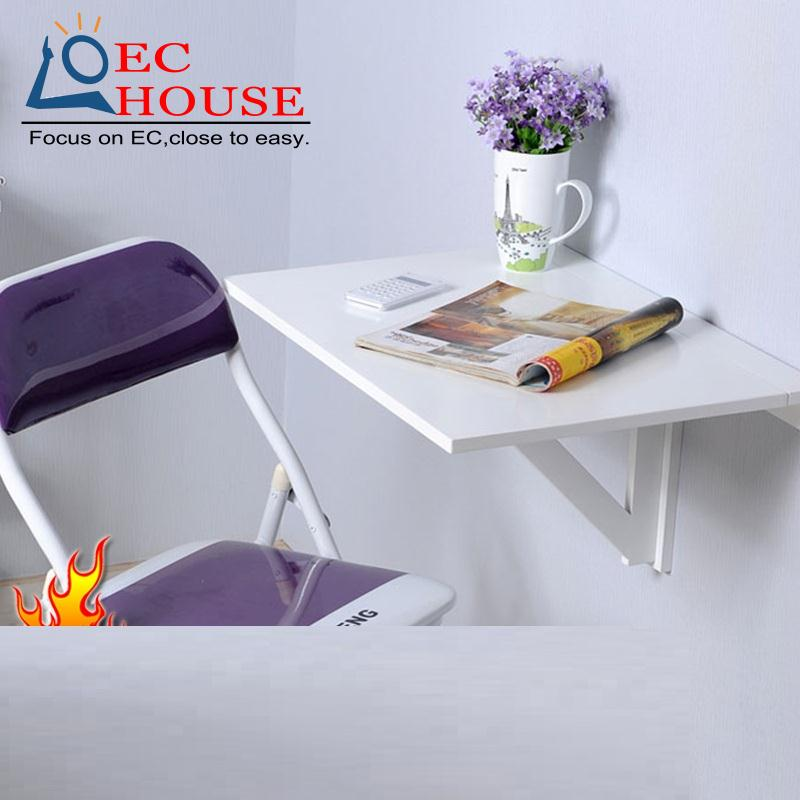 home laptop even folding desk simple bedside by the hanging wall table FREE SHIPPING