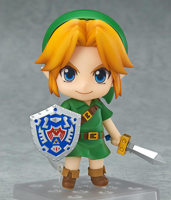 Zelda Action Figures Link Nendoroid Majora's Mask PVC 100mm Collectible Model Toys Zelda Nendoroid Figure