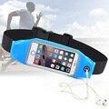 General del deporte gimnasio cinturón bolsa impermeable bolso de la cintura para nokia lumia 950 s7 teléfono case para samsung galaxy a5 borde j7 j5 2016