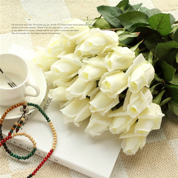 Artificial Fresh Rose Flowers Real Touch Rose Flower Home Decorations For Wedding Party Or Birthday Wedding Decoration Flower Health & Beauty