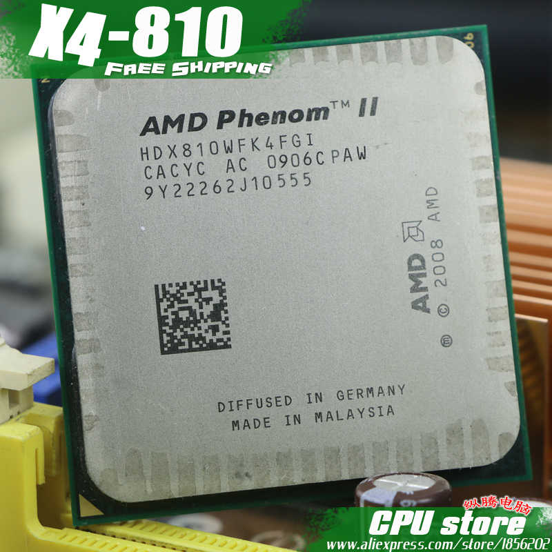 Amd Phenom Ii X4 810 Cpu Processor Quad Core 2 6ghz 4m 95w Socket Am3 Am2 938 Pin Working 100 Free Shipping Sell X4 820 Phenom Ii X4 Amd Phenom Ii X4amd Phenom Aliexpress