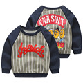 LittleSpring New Baby Boys Outwear Boy Sweatshirt Letter Print Cartoon Pullover Boy's Tops Sweatshirts Kids Child Casual Clothes