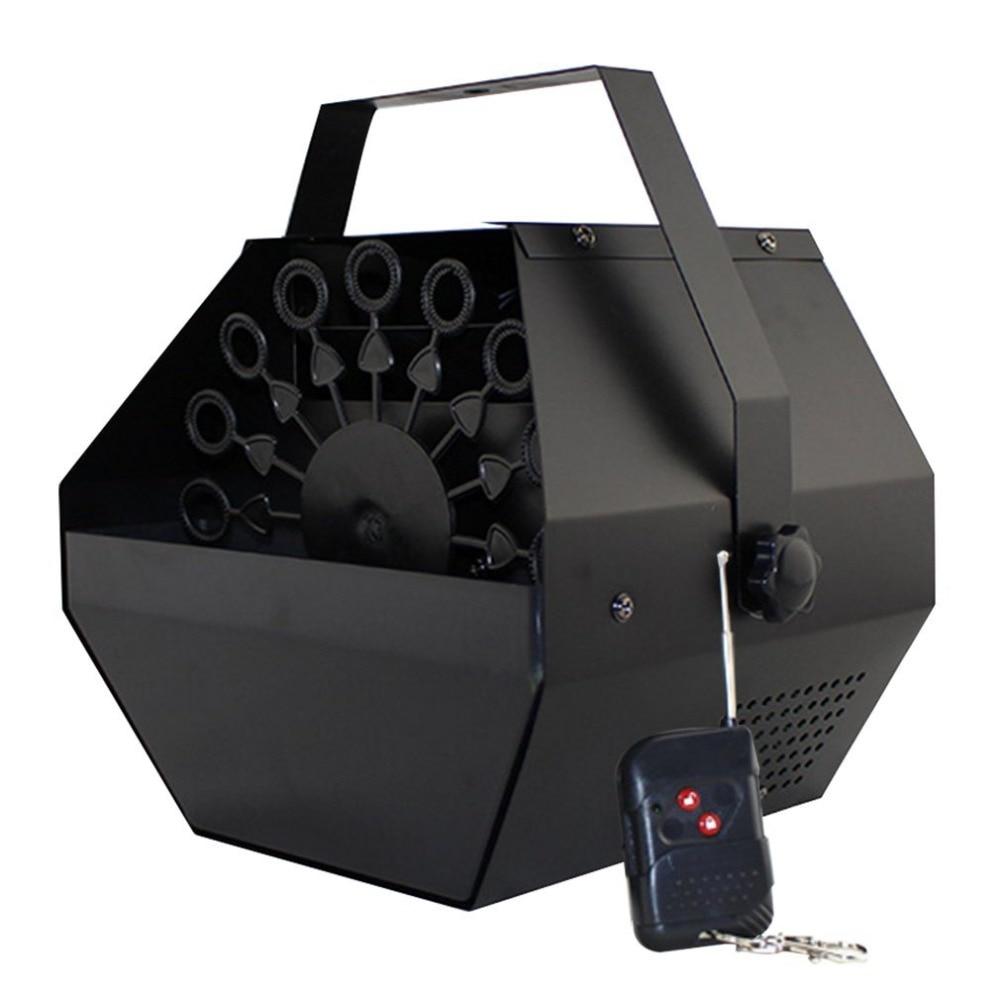 Mini Machine à bulles automatique Portable avec Machine à bulles électrique télécommandée pour DJ/Bar/fête/spectacle/scène/mariage