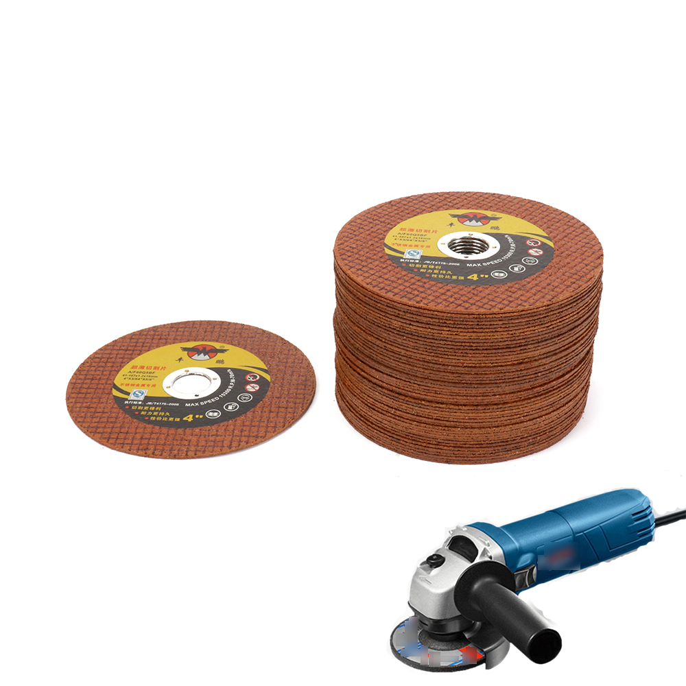 30Pcs 107mm Resin Cutting Wheel Grinding Disc For Iron Stainless Steel Metal Angle Grinder Rotary Tool Thick 1.2mm Durable 100 resin grinding wheel piece metal cutting type angle grinder using