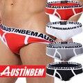 Envío libre! nuevo estilo de la marca AUSTINBEM hombre moda pantalones de algodón suave de la ropa interior hombres gay ropa interior de los hombres