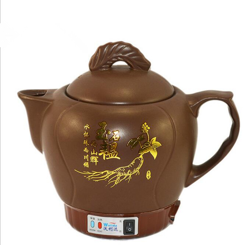 220V 4L Ceramic Electric Kettle High Quality Tea Pot Water Kettle Chinese Style Health Preserving Pot