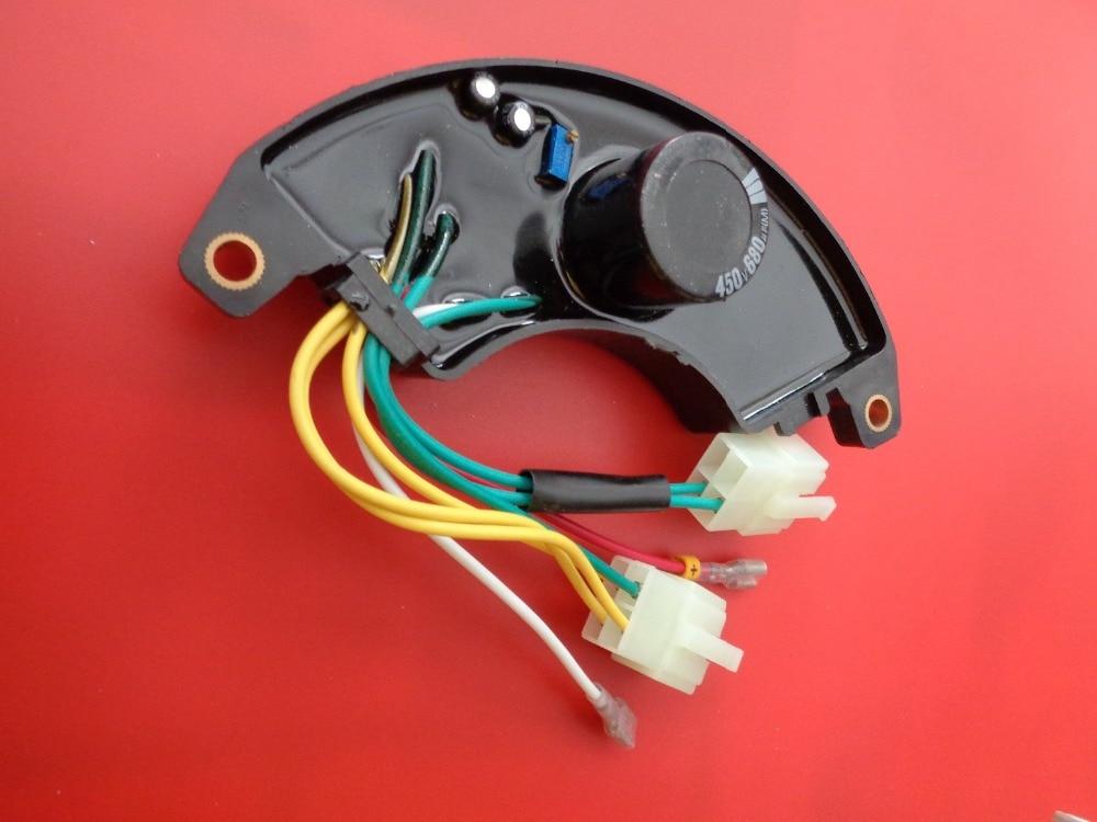 AVR5-3 5KW AVR 450V 680UF Capacitor,Three Phase 188F Generator Parts Accessory Automatic Voltage Regulator