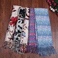 Весна осень шарф согреться имитация кашемира шарф люксовый бренд шарфы солнцезащитный крем вентиляции высокого качества шарфы