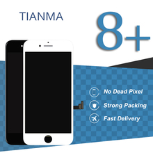 5pcs Black White Tianma Screen For iPhone 8 Plus LCD Display With 3D Touch Assembly Mobile