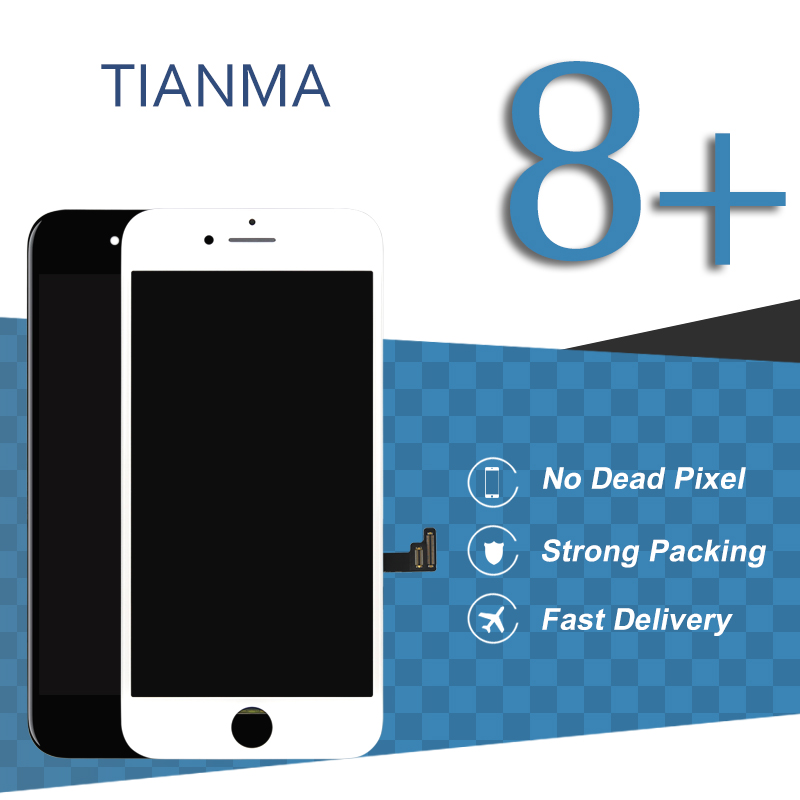 5pcs Tianma Quality For iPhone 8 Plus Display Touch Screen Assembly Mobile font b Phone b