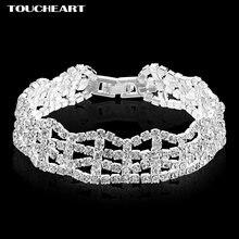 Новые очаровательные ювелирные изделия toucheart ажурные браслеты