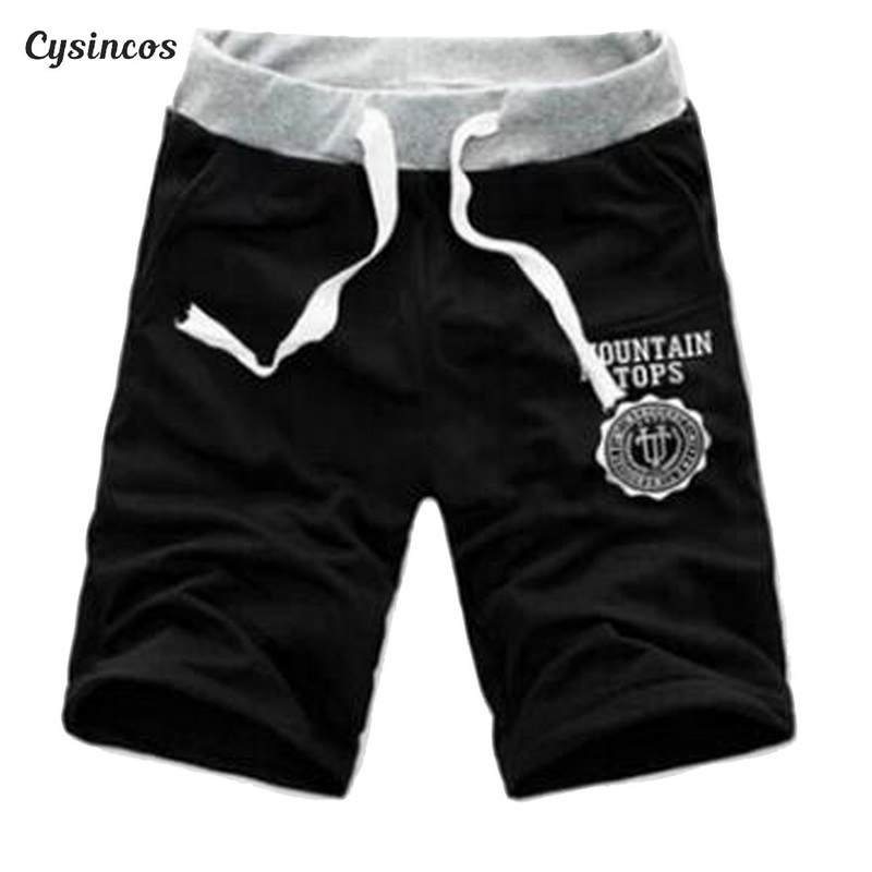 CYSINCOS Hot sale Men   Shorts   Half Summer Beach Printed Breathable Cotton Fashion Casual Outdoor Men Pantalones Soft   Shorts   M-3XL