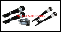 for MERCEDES benz CL & S W221 S350 S450 S500 S550 CL550 S63 AMG COMPLETE SET AIR SUSPENSION STRUTS / SHOCKS compressor pump