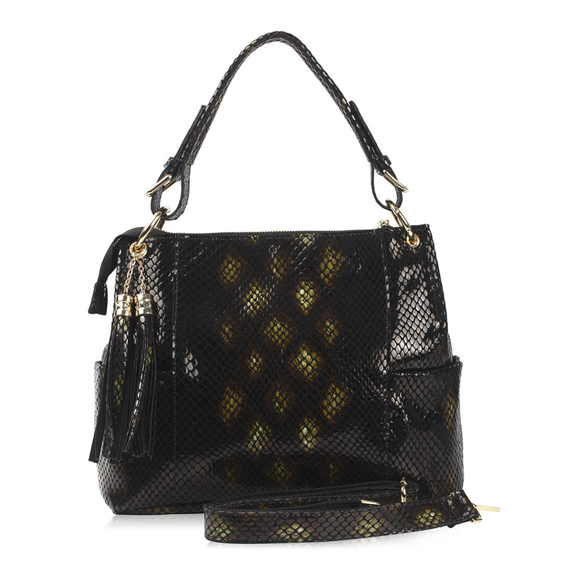 YOUMEIYOUPIN Cow Leather Women Handbag Totes Female Serpentine Shoulder Bags Totes Women Shopping Traveling Fashion Handbag цена