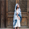 Bohemia Scarf shawls National Wind Long Tassels Printing Scarves And Stoles Pashmina Bufandas Poncho Feminino Chiffon Hijab