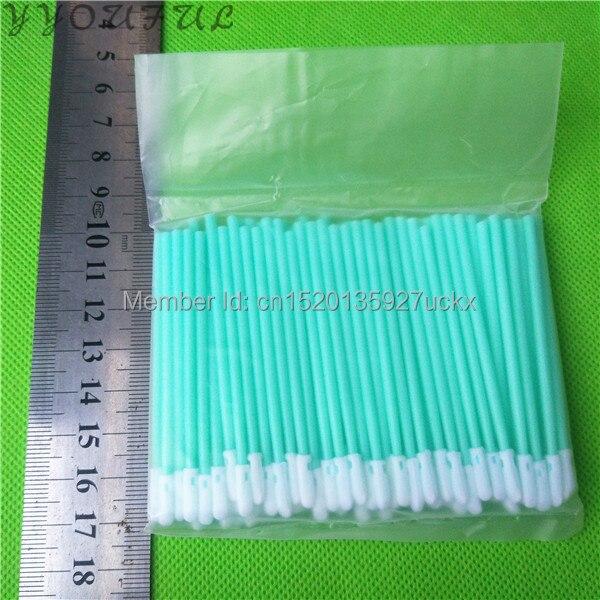 1000pc inkjet printer head cleaning stick foam tipped clean swab 70mm long PCB board phone screen