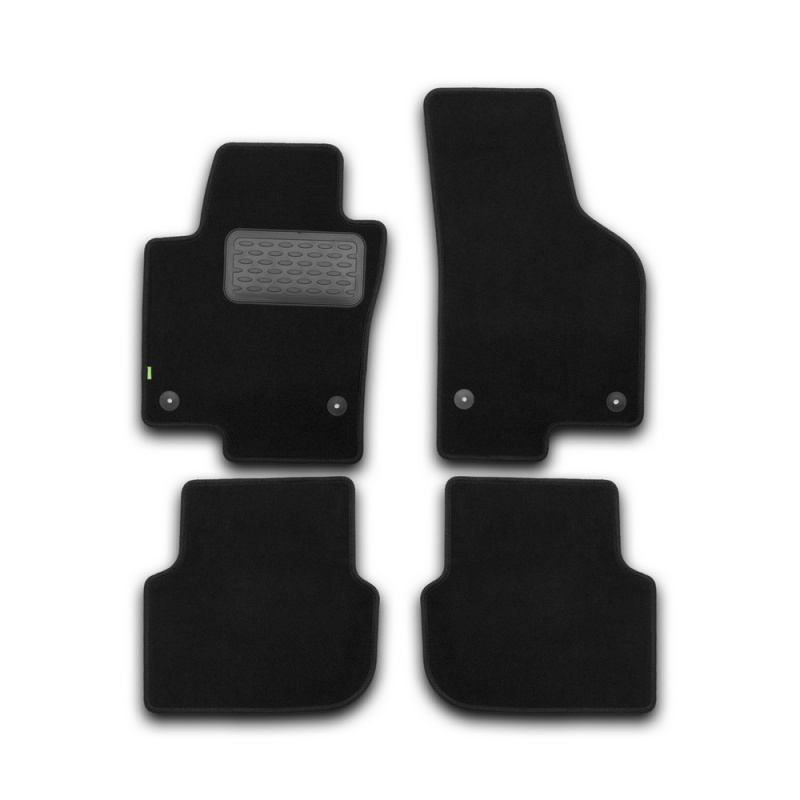 цена на Mats in salon Klever Standard For VOLKSWAGEN Jetta 2011->, сед... 4 PCs (textile)